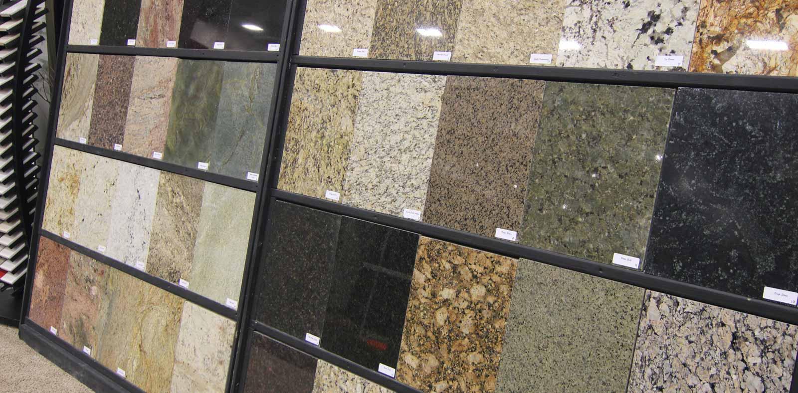 natural stone sample squares