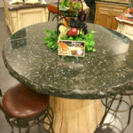 Granite-Table-with-Triple-Chiseled-Edge